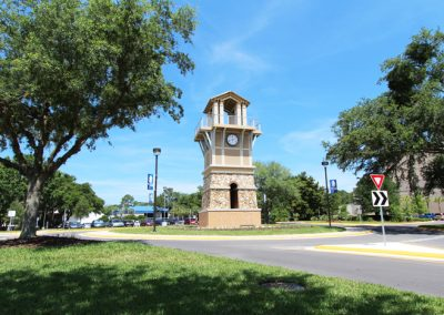 Santa Fe College Clock Tower & Campus Signage