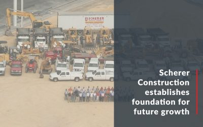 Scherer Construction establishes new foundation for future growth