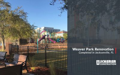 Weaver Park Renovation Completed in Jacksonville, FL