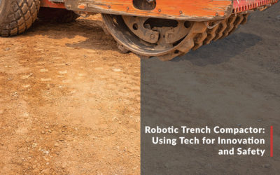 Robotic Trench Compactor: Using Tech for Innovation and Safety